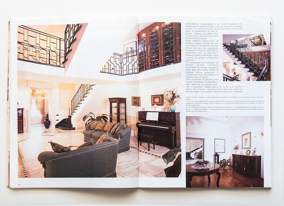 Casa del collezionista, Appartamento del '700, Salotto e scala Recupero, Pucciarelli Studio di Architettura, Architetto Napoli