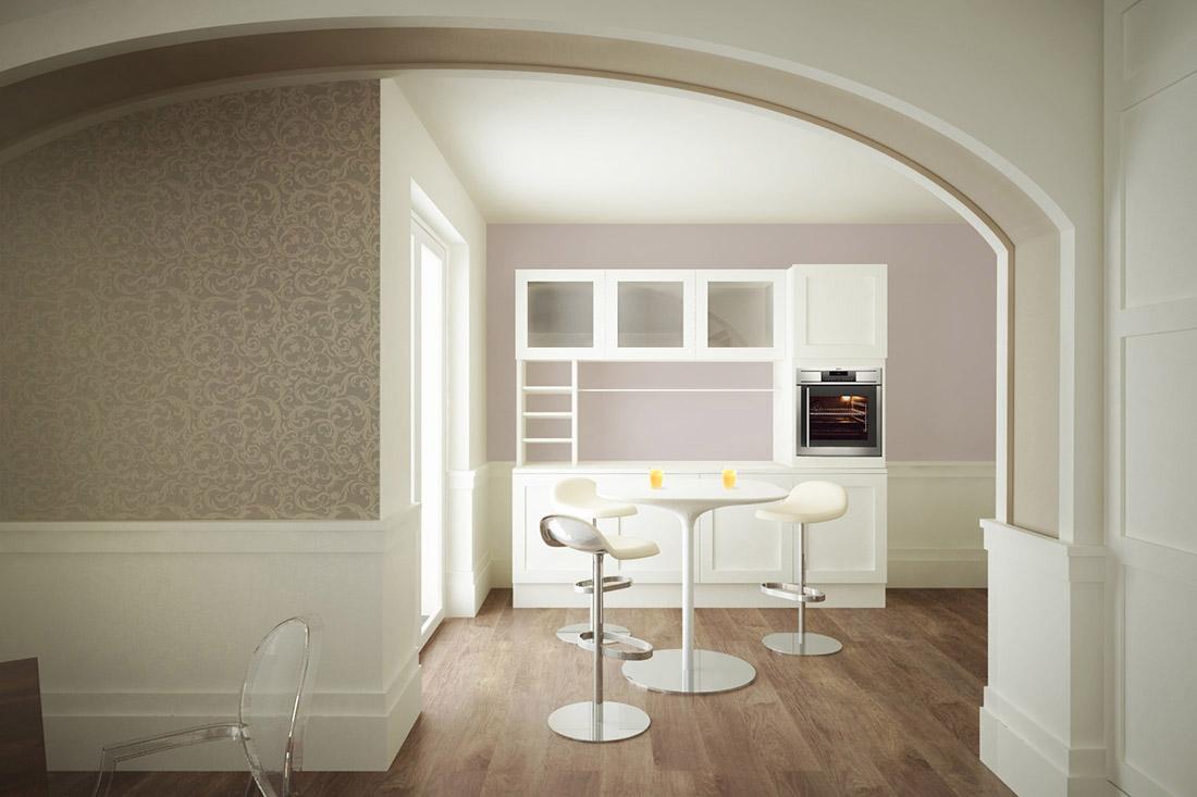 appartamento-sofia-cucina e snack-design-di-interni-casoria-napoli