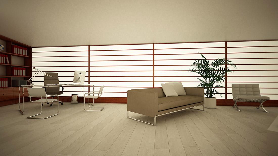 light idea-ufficio-e-area-relax-parete-luminosa-a-led